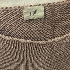j jill crop knit top